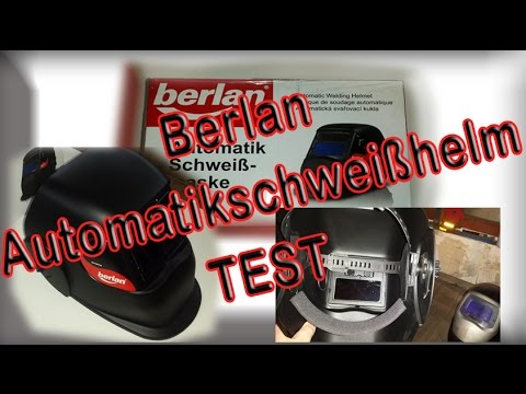 Berlan Automatik Schweißmaske / Schweißhelm BASM200 TEST und Erfahrungen