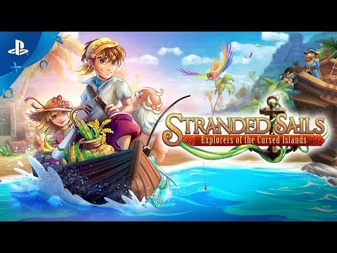 Stranded Sails: Explorers of the Cursed Islands - TGS 2019 Gameplay Trailer | PS4 thumbnail