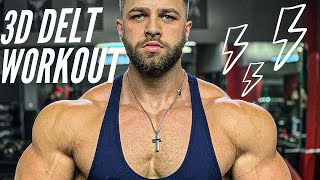 Massive Shoulder Day | Grocery Shopping on Contest Prep
