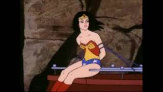 Wonder Woman Captured By Space Cowboy Robot