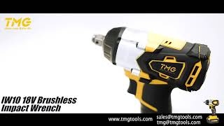 Brushless Drill&Brushless Impact Wrench