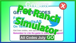 pet ranch simulator codes - TH-Clip