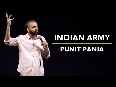 Indian Army | Stand-up Comedy by Punit Pania