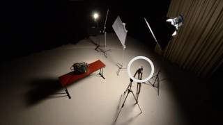 How to shoot a product shot on a limbo set