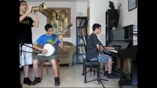 Mumford & Sons - The Cave (Piano+Banjo+Trumpet Cover)