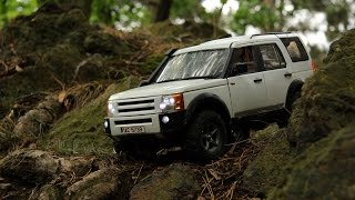 preview picture of video 'Tamiya CC-01 Land Rover Discovery III - In the Šárka Valley [HD]'