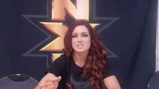 (Part1) WWE NXT Becky Lynch Feb. 2015