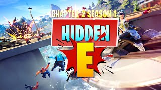 "Hidden ""E"" Letter Location in NEW Loading Screen (Fortnite Chapter 2 Season 1)"