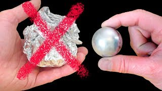 How to Make a Metal Ball - Gallium Not Foil! - Video Youtube