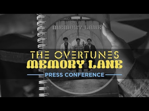 TheOvertunes Press Conference - Launching Album Memory Lane