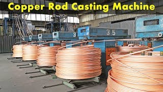 How To Produce Copper Rod From MillBerry Copper Wire Scrap? (Copper Cast Plant)