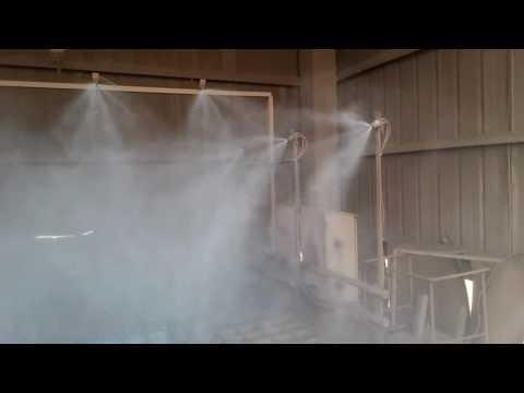 L Type Dry Fog Dust Suppression Nozzle