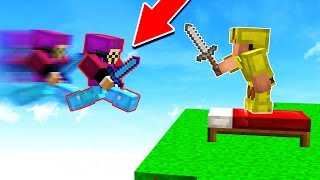 EXTREME HACKER GOES INSANE!! (Minecraft BED WARS)