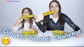 Çubukta Patates Yeme Yarışması - Sizce Kim Yeniyor - Eğlenceli Çocuk Videosu - Funny Kids Videos