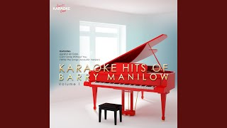 I Just Called to Say I Love You (In the Style of Barry Manilow) (Karaoke Version)