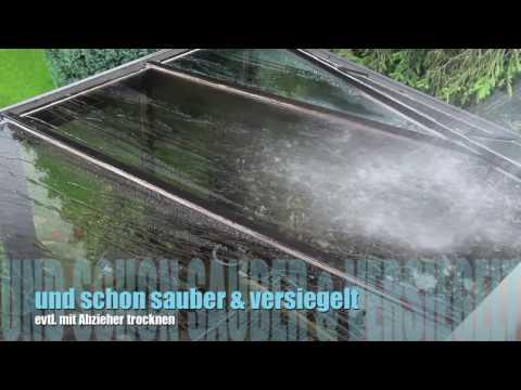 Wintergarten reinigen und versiegeln! Permanon GLASS by Optimum Versiegelungen GmbH