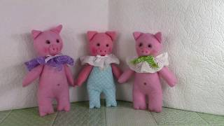 Шьем поросят / We sew pigs. ХоббиМаркет