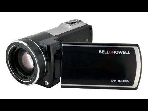 Bell & Howell DV1100HDZ camcorder review & test