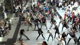 Flashmob Bahnhof Nürnberg