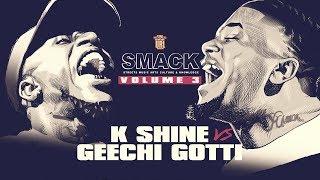 K-SHINE VS GEECHI GOTTI RAP BATTLE + BONUS FOOTAGE | URLTV