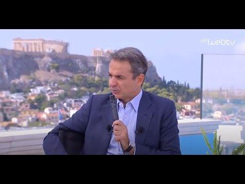 Συζήτηση του Πρωθυπουργού με τον ιστορικό Yuval Noah  στο πλαίσιο του Athens Democracy Forum 2020