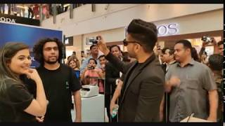 Guru Randhawa live | at delhi | oneplus 6 | unboxes the recently | launched flagship | smartphone |