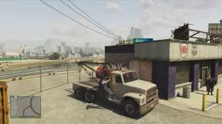 GTA V Tow Truck Location