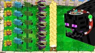 Plants vs Zombies Version Minecraft Epic Hack PvZ