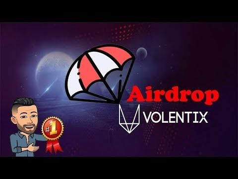 🔴TOP AIRDROP🔴 Volentix com prêmios de $6,6 Dolares + Ref !