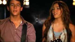 Jonas Brothers Feat Miley Cyrus & Demi Lovato And Selena Gomez   Send It On (HQ + Lyrics)