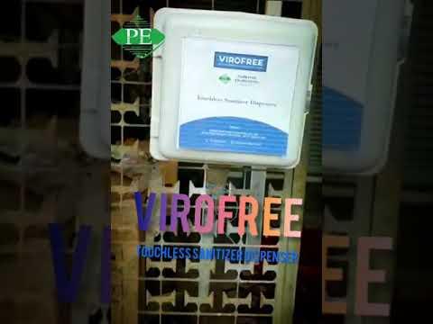 Touchless Hand Sanitizer Dispenser