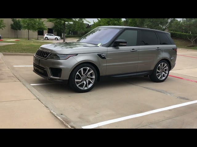Pre-Owned 2018 Land Rover Range Rover Sport HSE 21''Alloys PanoRoof HeatedSeats SoftCloseDoors MeridianSound