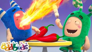 Oddbods   NAYA   Hot Lava Challenge   Bachchon Ke Liye Mazedaar Cartoon