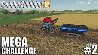 MEGA Equipment Challenge | Timelapse #2 | Farming Simulator 19