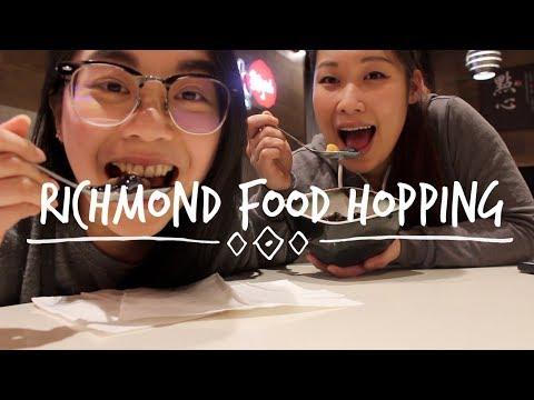 Food Hopping Richmond   Foodie Vlog (видео)