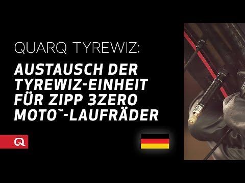 Austausch der TyreWiz-Einheit für ZIPP 3Zero MOTO™-Laufräder