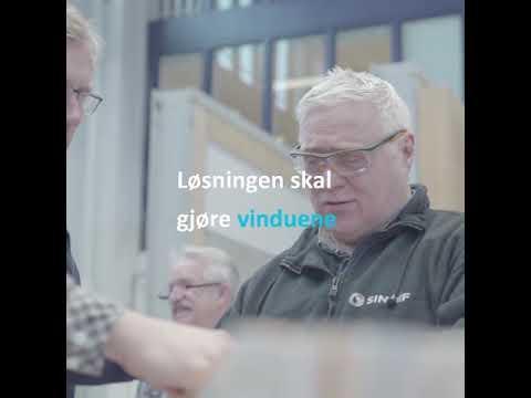 SINTEF tester innsettingsløsning for vinduer i sitt laboratorium i Trondheim.