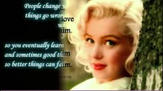 Marilyn Monroe Love Quotes -  Inspirational Quotes By Marilyn Monroe