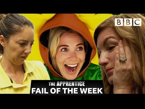 FAIL OF THE WEEK: Candidates cause chaos in gardening task | The Apprentice - BBC