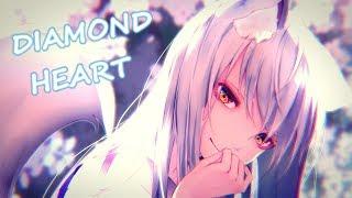 Nightcore   Diamond Heart (Alan Walker  Lyrics)