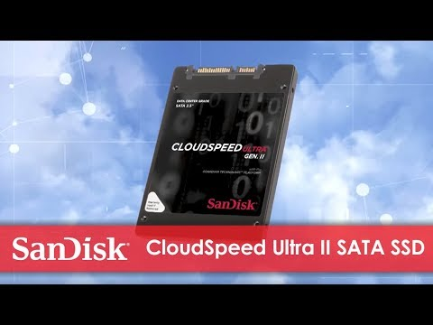 CloudSpeed Ultra™ Gen. II SATA SSD for Cloud Computing