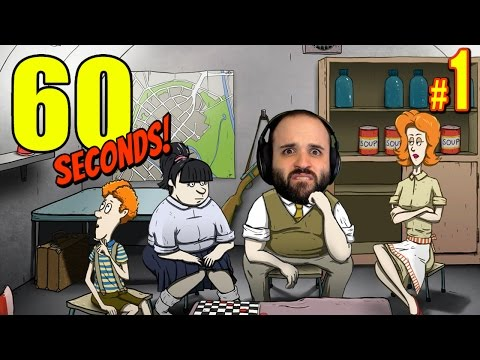 Gameplay de 60 Seconds!
