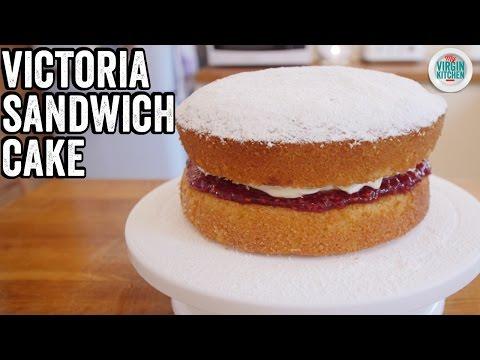 Video EASY VICTORIA SANDWICH CAKE RECIPE