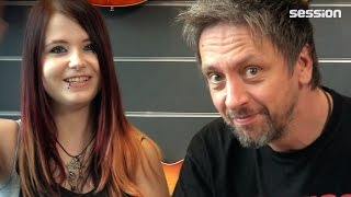 session-Interview mit YouTube-Gitarristin JJ