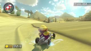 GCN Dry Dry Desert - 1:54.311 - C12☆Gιgα♪ (Mario Kart 8 World Record)