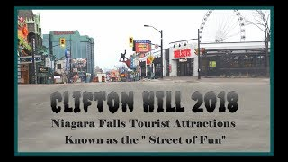 Niagara Falls Attractions 2018 Clifton Hill UPDATED!