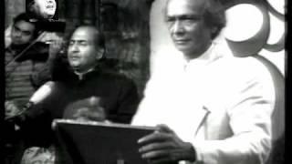Mann Tadpat - Mohammad Rafi Live With Naushad - YouTube