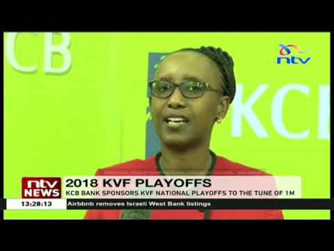 KCB bank sponsors KVF national playoffs to the tune of one million