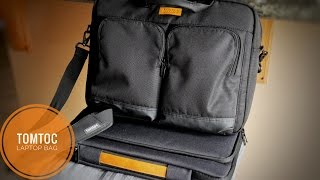 Tomtoc 15.6 Business Laptop Briefcase And Shoulder Bag Review