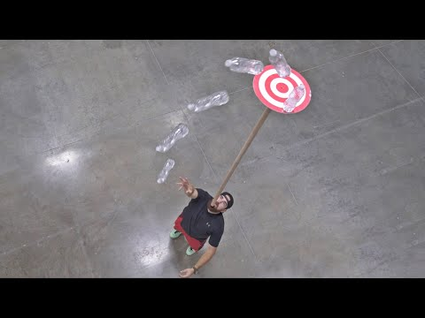Membalikkan Botol Air 2 | Dude Perfect